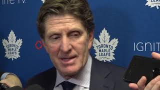 Maple Leafs Post-Game: Mike Babcock - December 8, 2018