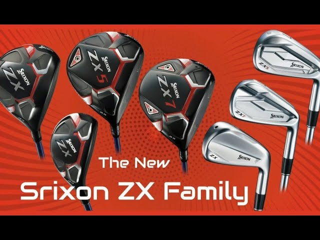 Srixon ZX Series: Power, Performance, Style