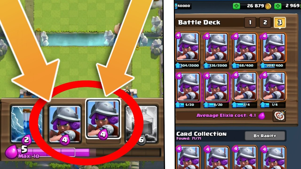 """OMG! INSANE """"CARD DUPLICATION"""" GLITCH! Duplicating Musketeer Card! Clash Royale NEW Glitch and Bugs!"""
