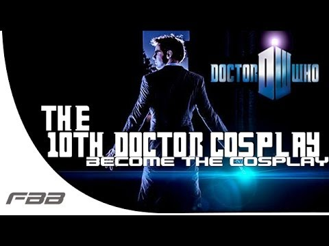 The 10th Doctor Cosplay (Doctor Who) -Become The Cosplay