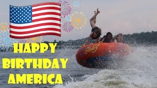 Crazy Tubing on America's Birthday 🇺🇸 (WK 339.7) | Bratayley