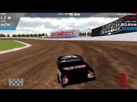 DirtTrackin' Replay at LUCAS OIL SPEEDWAY with Street stock