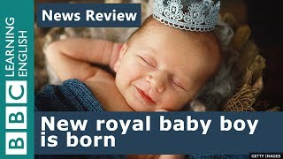 A royal baby boy is born to William and Kate
