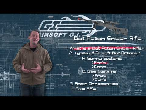 Airsoft GI – Back To Basics – The Bolt Action Sniper Rifle