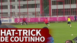 Bayern  Hat-trick De Coutinho En Su Primer Día  Diario As