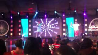 Ben Brako and Yaa Pono performers at the 2012 Vodafone Ghana Music Awards Festival (VGMA)