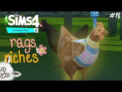 วันนี้ที่รอยคอ… the sims 4 rags to riches (cottage living) ss.3 ep.18