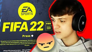 this FIFA 22 GAMEPLAY is AWFUL