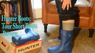 Hunter Boots: Tour Short Boots Review