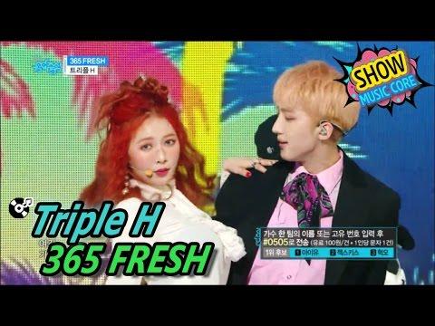 [HOT] Triple H - 365 FRESH, 트리플 H - 365 FRESH Show Music Core 20170506