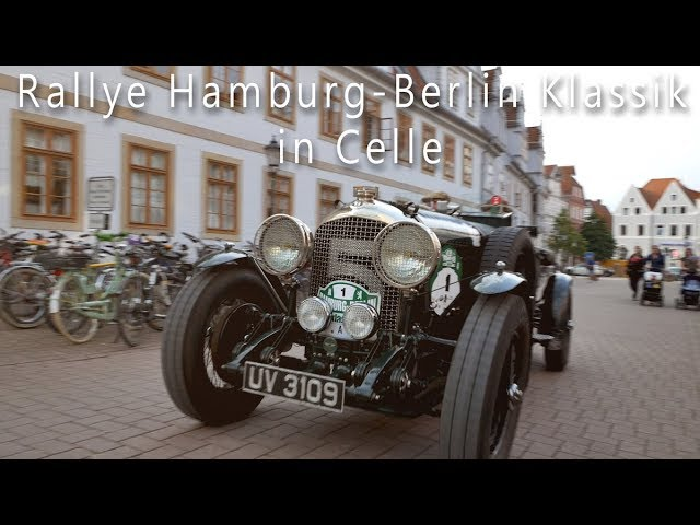 Rallye Hamburg-Berlin Klassik 2017 in Celle mit Promis