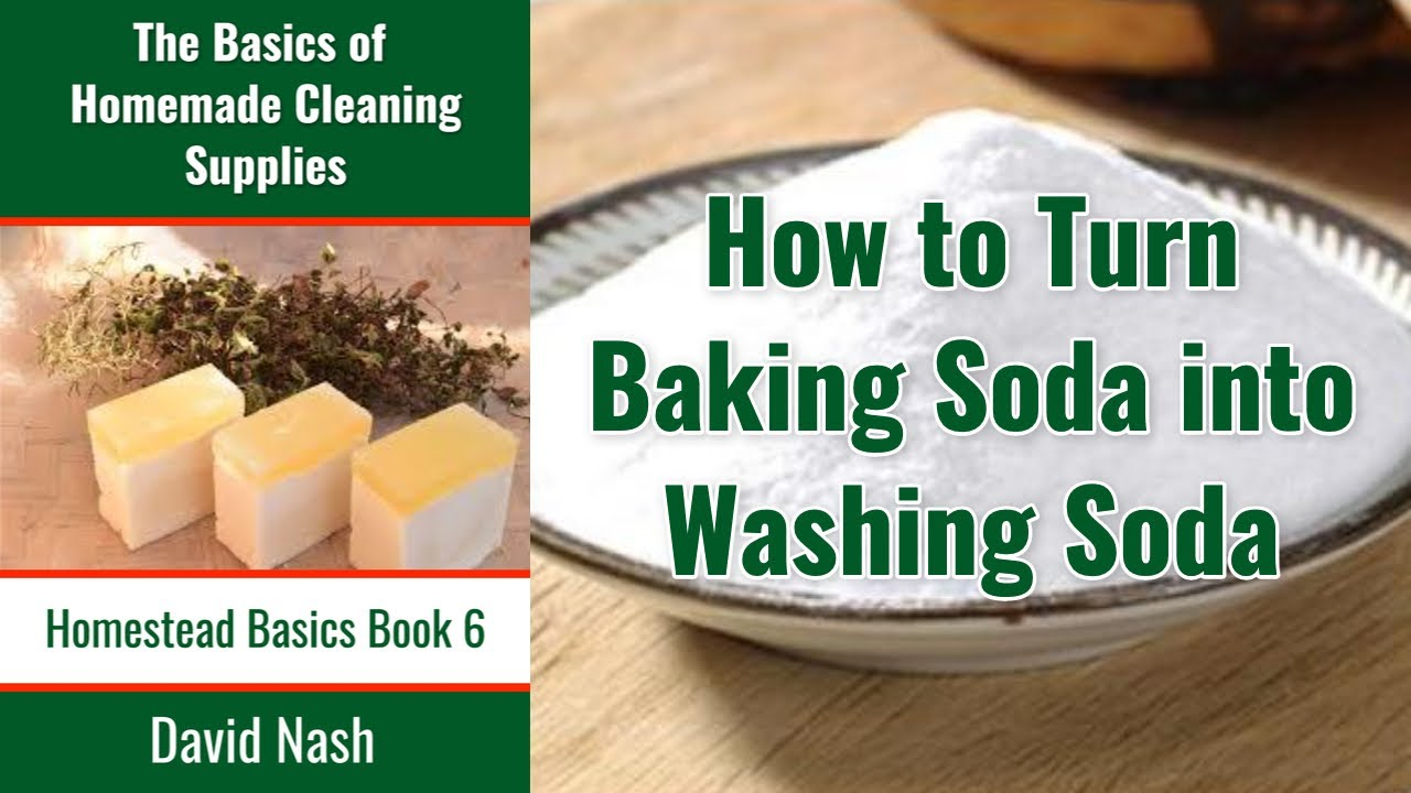how to convert baking soda into washing soda youtube. Black Bedroom Furniture Sets. Home Design Ideas
