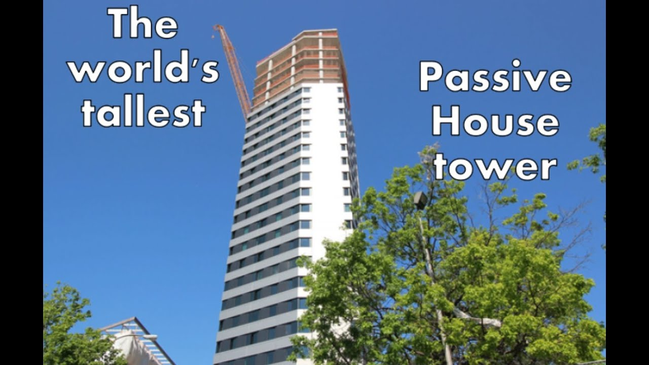 World's tallest Passive House building rises at Cornell Tech