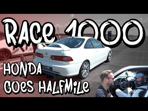 Raceday - Eugens Honda Integra Turbo auf der halben Meile! - Race 1000 Round 2 | Philipp Kaess |