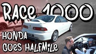 Raceday - Eugens Honda Integra Turbo auf der halben Meile! - Race 1000 Round 2 | Philipp Kaess |