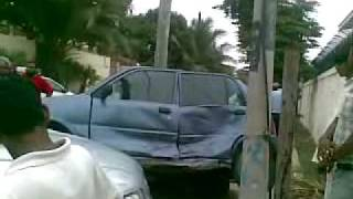 karachi dha accident 2017 Video