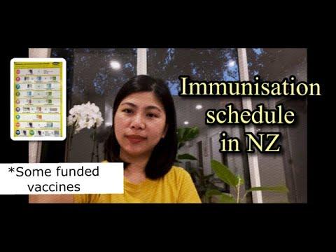 New Zealand Immunisation Schedule
