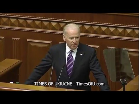 Vice President Joe Biden speech at the Verkhovna Rada