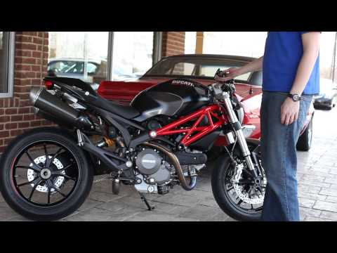 Ducati Monster 796 Termignoni Carbon - Revs