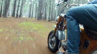 cabin adventures part 2 honda ct70 trail 70