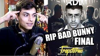 redimi2   trapstorno 6  rip bad bunny     quien contra mi  video oficial  feat el leo reaccion