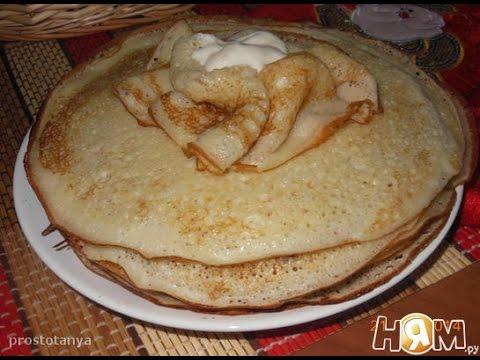 Творожные десертные блинчики  Пошаговый рецепт с фото
