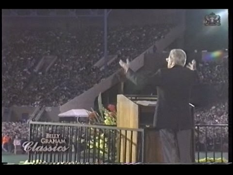 Billy Graham - Time to come home  - Portland OR 1992