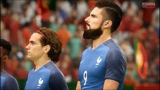 France vs Portugal FIFA 18 Difficulté Légende Gameplay PC