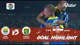 PERSIB Bandung (4) vs (1) PERSEBAYA Surabaya - Goal Highlight | Shopee Liga 1