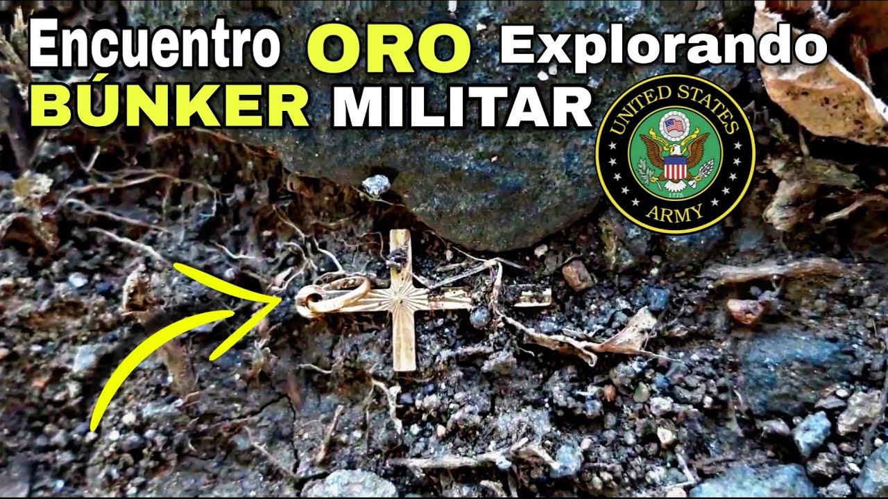 ENCUENTRO ORO en un BÚNKER MILITAR en PANAMÁ