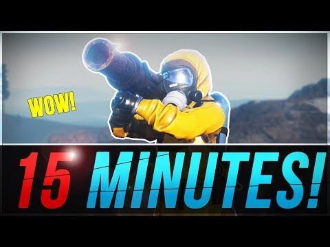 Rocket Launcher in 15 MINUTES! | Rust Solo Survival #4