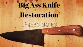 Video Big Ass Knife Restoration Using Reclaimed Materials download MP3, 3GP, MP4, WEBM, AVI, FLV April 2018