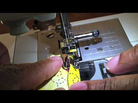 Elmo's Dog Bandana How To Do A Rolled Hem YouTube Classy How To Do A Rolled Hem On Sewing Machine