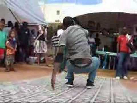Breakdance at Kampala Street Art Festival 2007