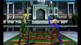 Tekken 2 ( PS1 ) - Nina - Arcade Mode - Original Music ( Apr 16, 2017 ) thumbnail