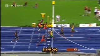 Usain Bolt 9.58 - 100m World Record [50 fps]
