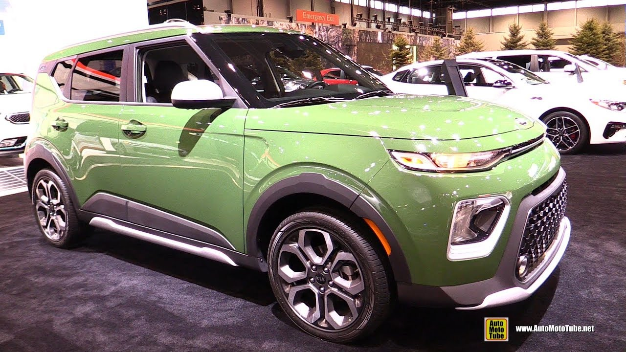 Chicago Auto Show 2020 Dates.2020 Kia Soul Exterior And Interior Walkaround 2019 Chicago Auto Show