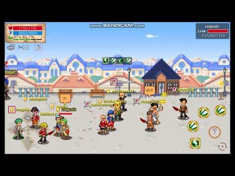 hải tặc tí hon - buoncarot đi pvp với clan thủy tộc