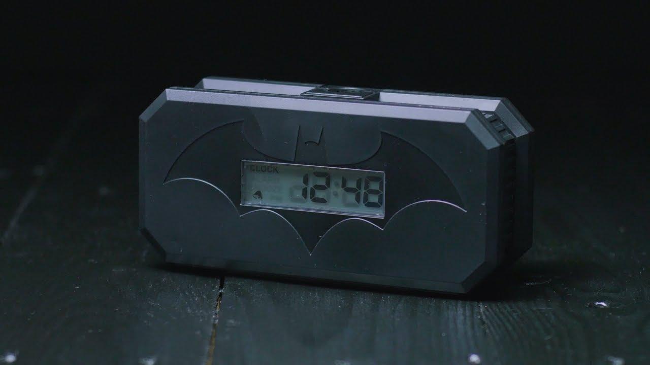 Batman Projection Alarm Clock Paladone