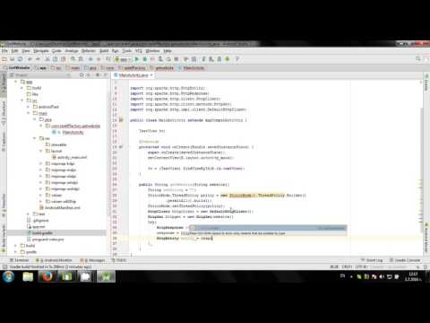 Get Website source code in Android Studio