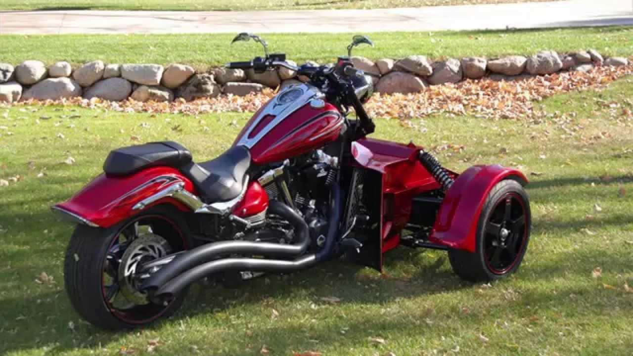 Endeavor Reverse Trike Conversion Kit Youtube