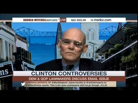 James Carville Goes Scorched Earth on MSNBC Over Hillary E mails