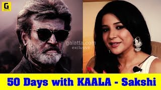 50 Days with KAALA - Sakshi Agarwal | Rajinikanth | Pa Ranjith
