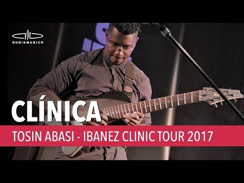 Tosin Abasi | Ibanez Clinic Tour 2017