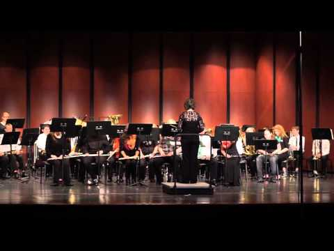 Springport Middle School Concert Band clinic at Fowlerville, MI