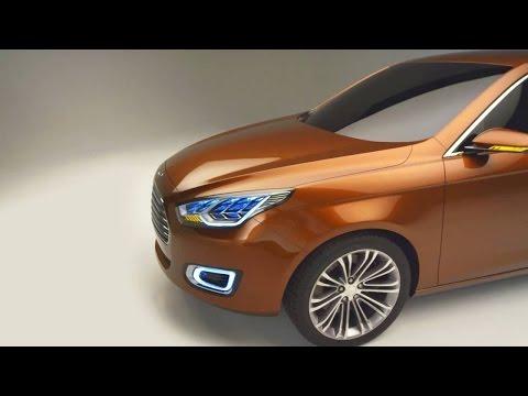 Ford Escort Concept - 2013 Shanghai Auto Show