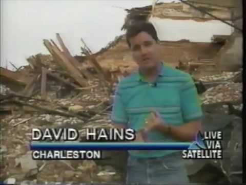 Hurricane Hugo Coverage Sept, 1989