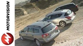 VW Passat Variant vs. Peugeot 407 SW vs. Toyota Avensis Comb