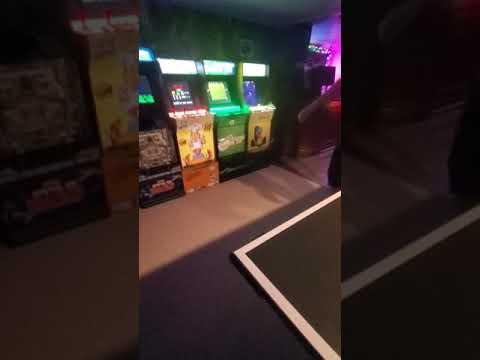 Arcade1Up Light Up Kickplate Follow Up - Kickplates in the Dark from MercTheJerk