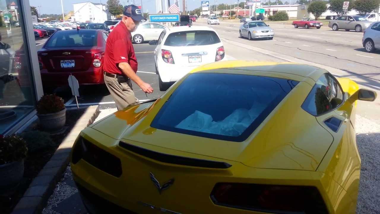 2014 Corvette Stingray For Sale In Richmond, Virginia At Heritage Chevrolet    YouTube